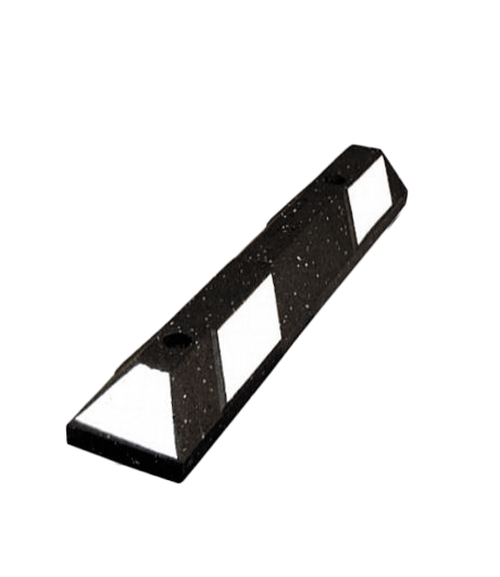 3' Recycled Rubber Parking Block