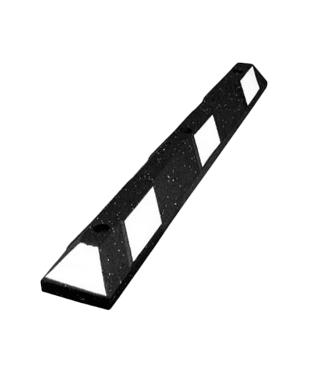 4' Recycled Rubber Parking Block